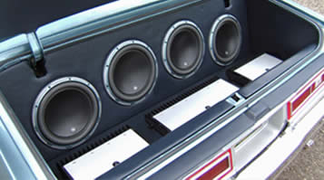 JL Audio sound system in caprice