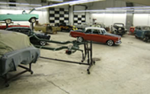 muscle cars being built